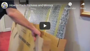 How to Pack Mirrors & Pictures